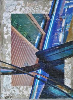 nr210   2013   Mixed media on canvas   18x24cm   © Oleg Bogomolov