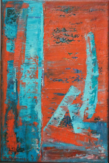 nr211   2013   Oil on canvas   20x30cm   © Oleg Bogomolov