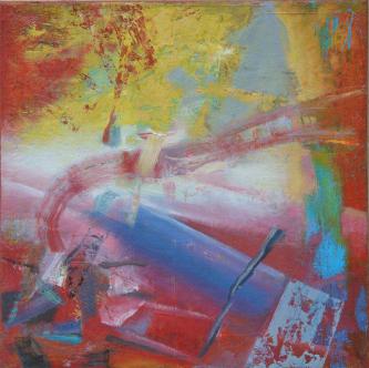 n239   2014   Oil on canvas   50x50cm   © Oleg Bogomolov