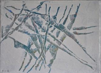nr215   2013   Oil on canvas   18x24cm   © Oleg Bogomolov