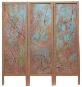 Bronze age   2017   Screen painting   150x180 cm