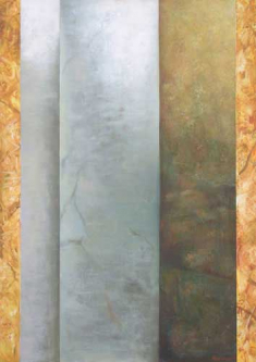 Statics   2007   Mixed media on canvas   95x110cm   © Oleg Bogomolov   SOLD