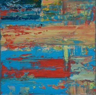 n238   2014   Oil on canvas   40x40cm    © Oleg Bogomolov