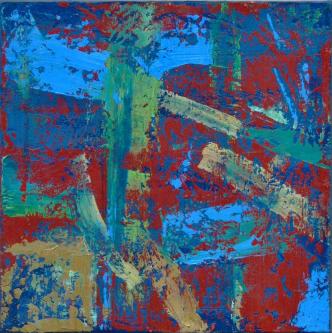 n237   2014   Oil on canvas   40x40cm   © Oleg Bogomolov