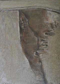 Egypt   2013   Mixed media on canvas   50x70cm   © Oleg Bogomolov   SOLD