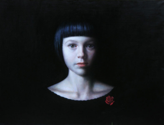 Colombina | 2020 | oil-on-canvas | 73X95 cm | © Oleg Bogomolov
