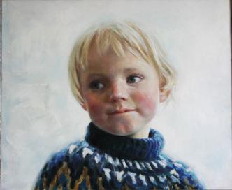 Lorenz | 2020 | oil-on-canvas | 50X60 cm | © Oleg Bogomolov