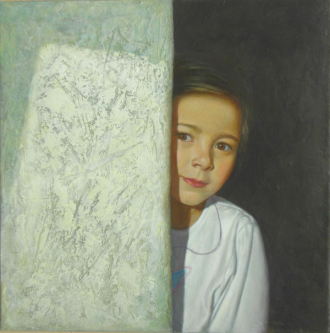 The Wall | 2010 | Oil on canvas | 60x60 cm | © Oleg Bogomolov