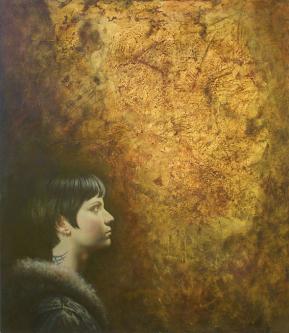Anticipation | 2008 | Oil on canvas | © Oleg Bogomolov