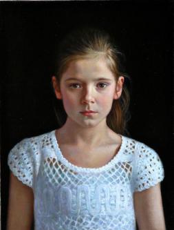 Lauretta | 2012 | Mixed media on canvas | 50x70 cm | © Oleg Bogomolov