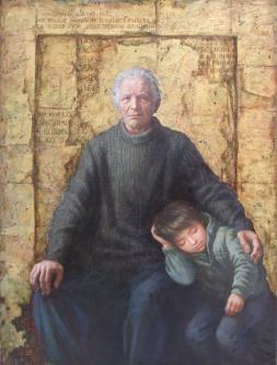 Ark | 2009 | Oil on canvas | 110x130 cm | © Oleg Bogomolov