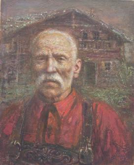 Old Man | 2010 | Oil on canvas | 40x50 cm | © Oleg Bogomolov
