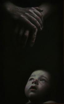 I am here | 2017 | Oil on canvas | 50x80 cm | © Oleg Bogomolov