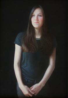 Catherin Anna Vormann | 2016 | Oil-on-canvas | 50x70 cm | © Oleg Bogomolov | SOLD