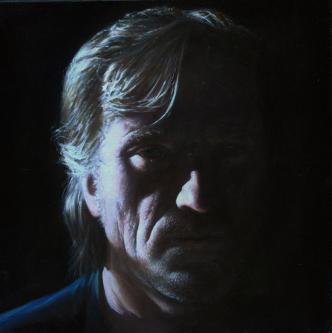 Selfportrait | 2017 | Oil on canvas | 40x40cm | © Oleg Bogomolov