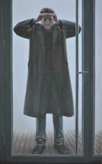 The Guest | 2013 | Mixed media on canvas | 100x160 cm | © Oleg Bogomolov | SOLD