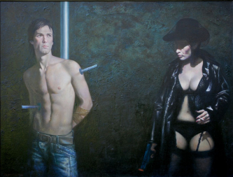 Sebastian | 2011 | Oil on canvas | 110x145 cm | © Oleg Bogomolov